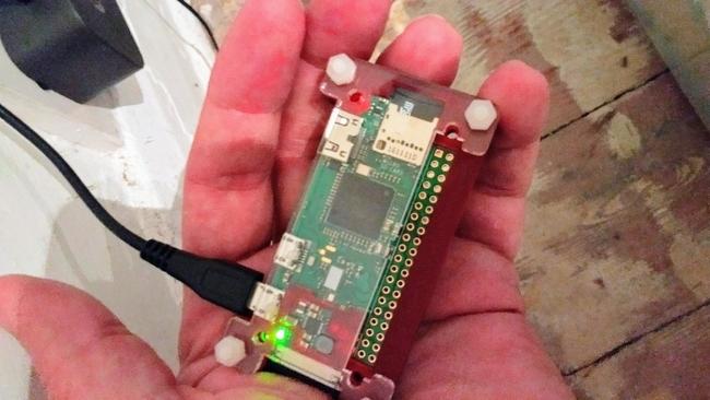 Monitor mode on the Raspberry Pi Zero W